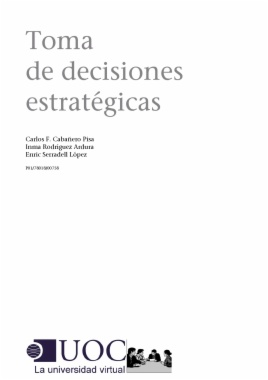 Toma de decisiones estratégicas