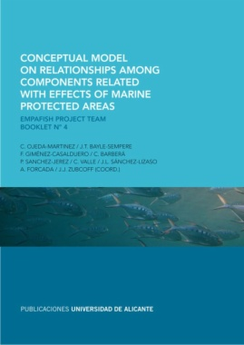 Conceptual model on relationships among components related with effects of marine protected areas