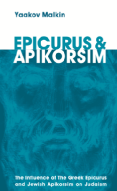 Epicurus and apikorsim