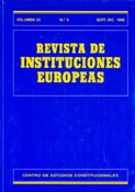 Revista de Instituciones Europeas