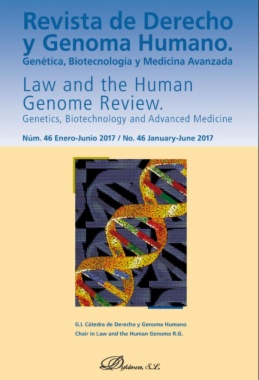 Revista de derecho y genoma humano = Law and the Human Genome Review
